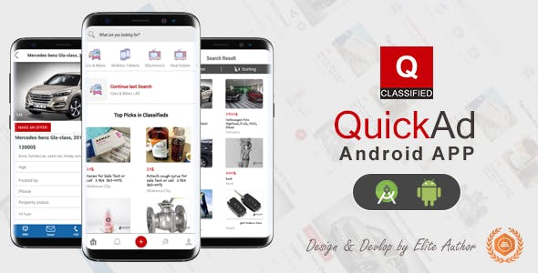 Quickad – Classified Native Android App