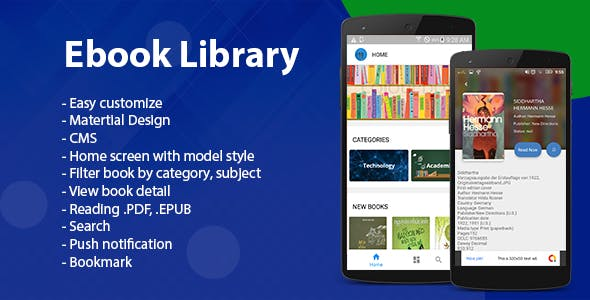 Ebook App Source Code for Android